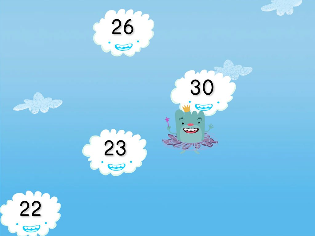 Cloud Catcher Numbers 20 30