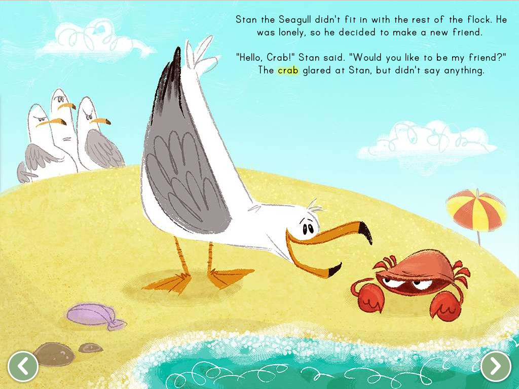 The Crabby Crab Story