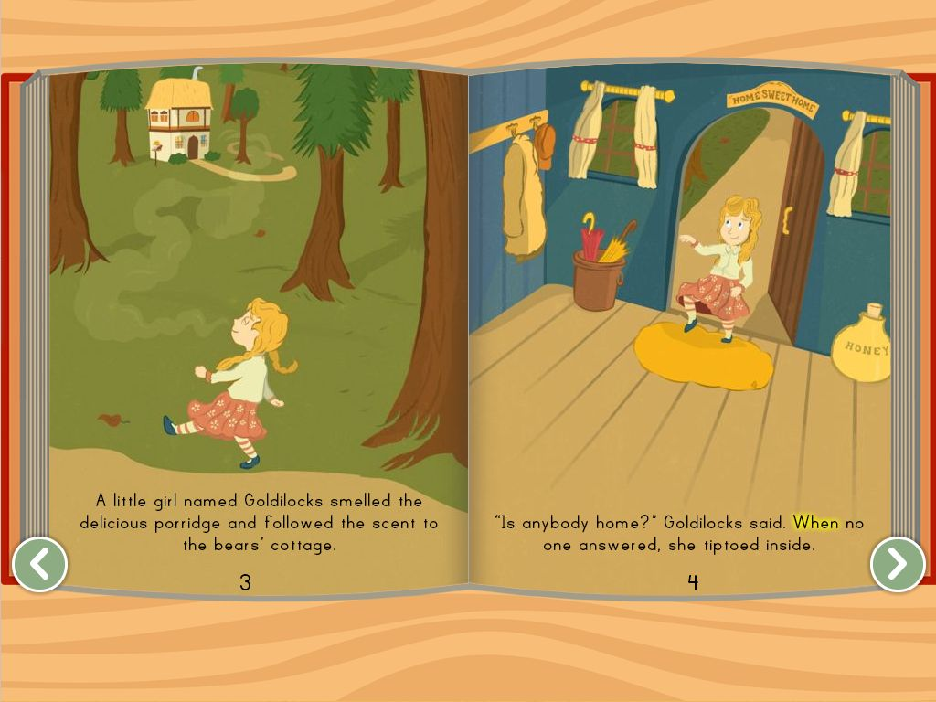 Goldilocks And The Three Bears Story