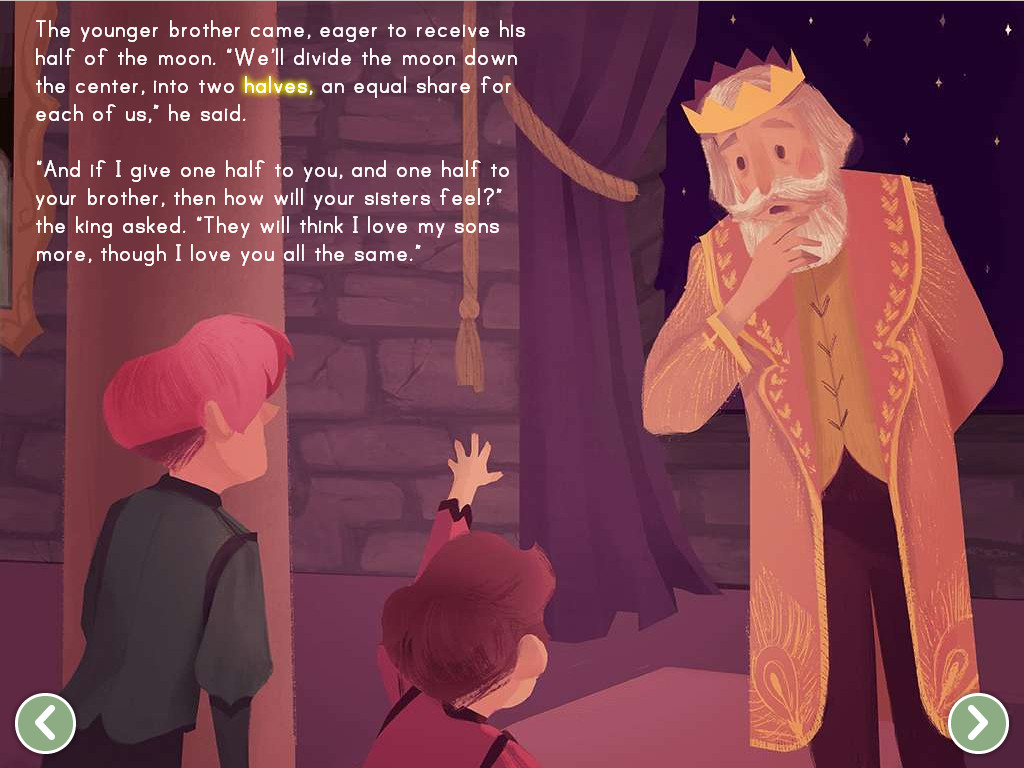 The King And The Moon Story
