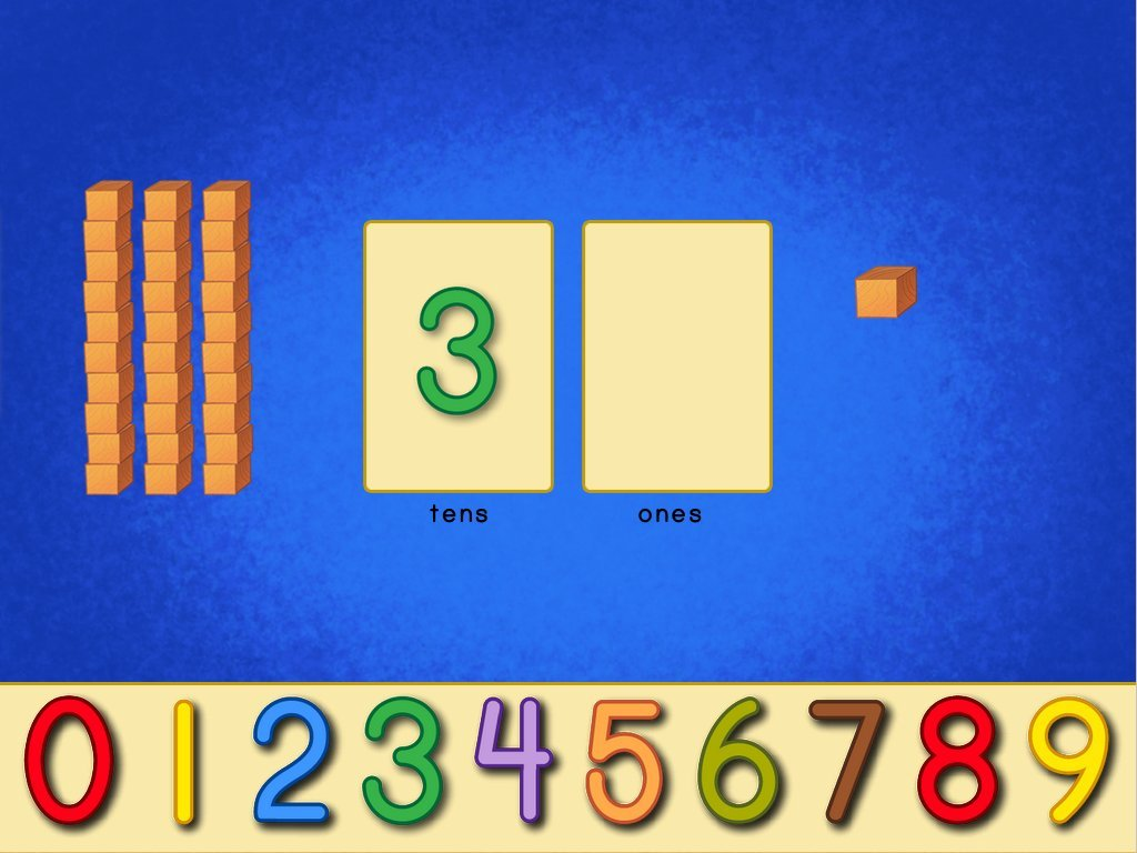 Place Value Blocks Game