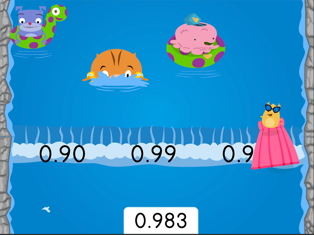 Water Rafting Rounding Decimals To The Nearest Hundredth