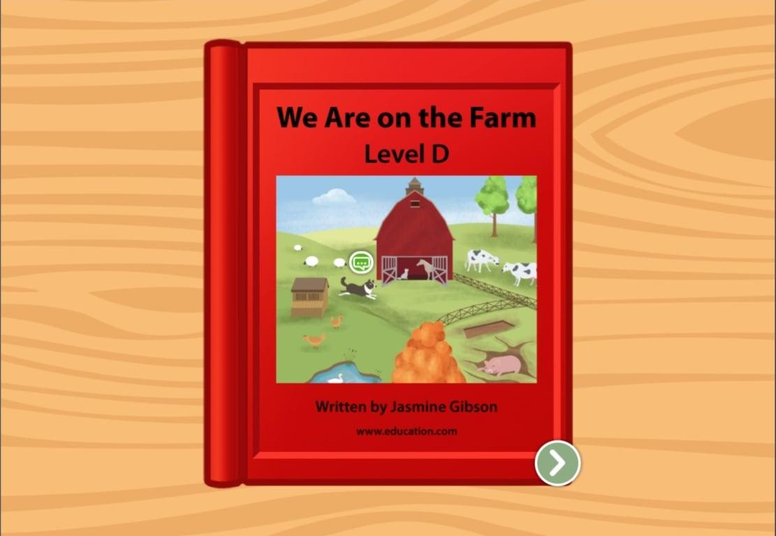 Picture Crossword Farm Animals