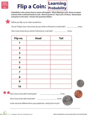 Flip A Coin Learning Probability
