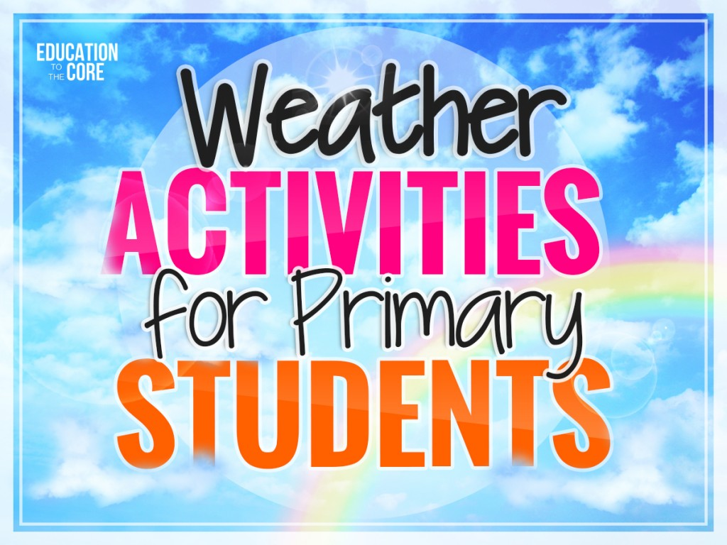 Weather Activities For Primary Students