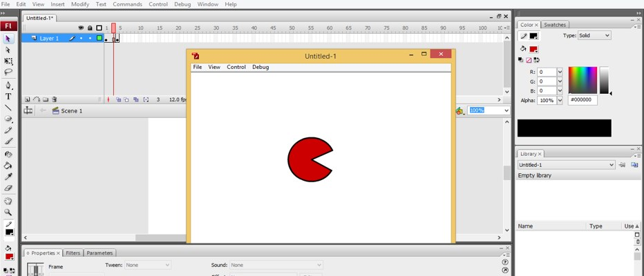 Animation In Adobe Flash How To Create Animation In Flash
