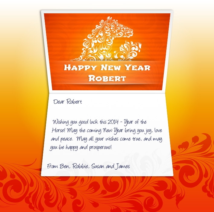 2014 Chinese New Year Ecard