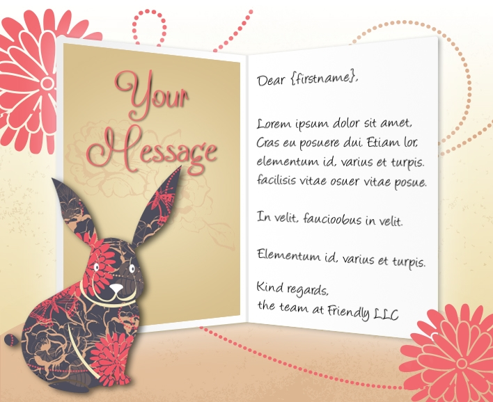 Branded Easter ECards For Business