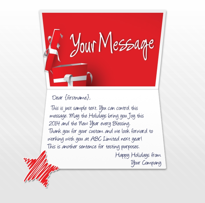 Holiday ECards For Business Amp Corporate Custom