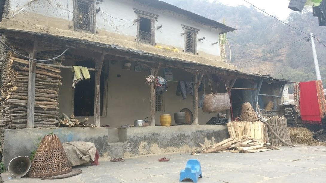 Khorshyang Village in Annapurna Trekker's Route