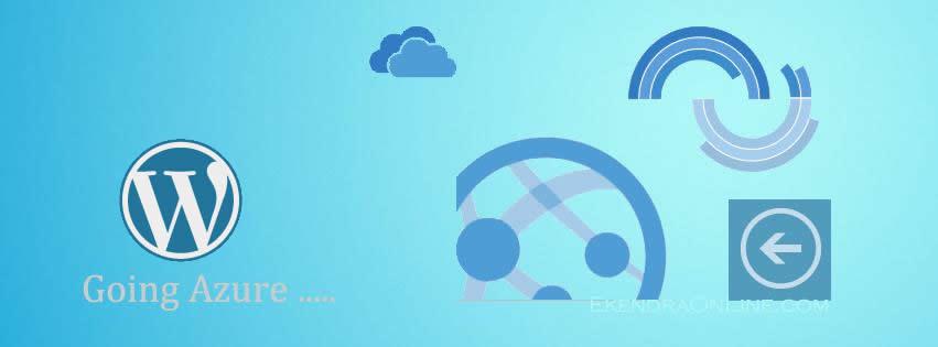 WordPress in Windows Azure Cloud Platform, make up logos