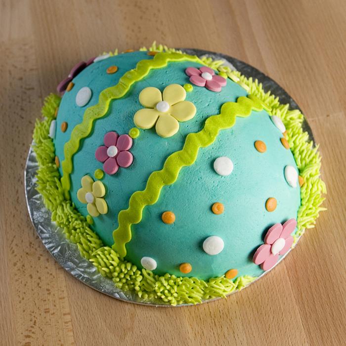 Easter Egg Cake Decorating Ideas