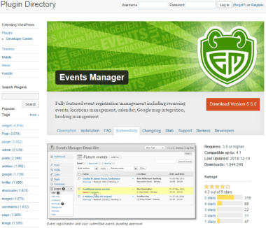 How to Set Up WordPress Event Registration - Events Manager
