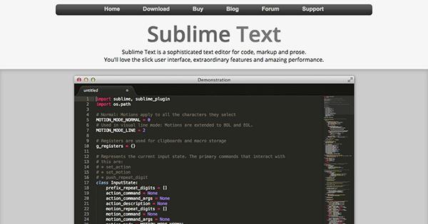 Sublime-Text
