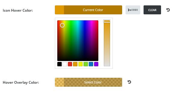Change Hover Color
