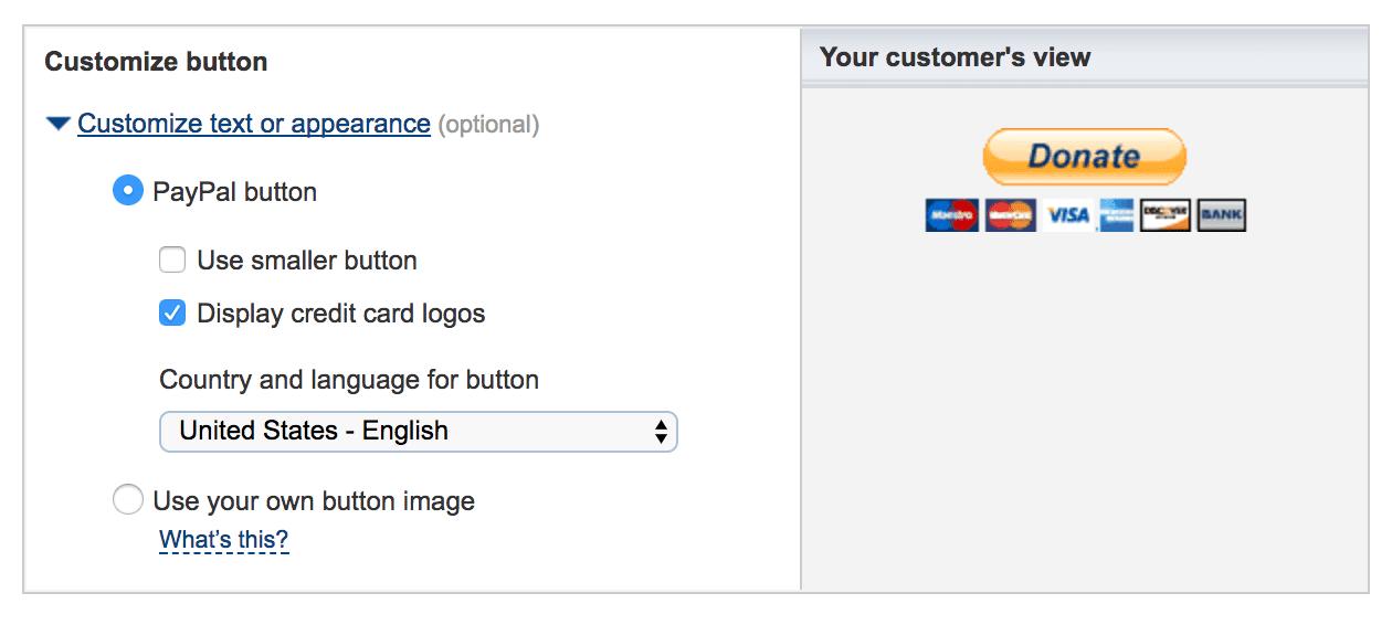 creating a button 3