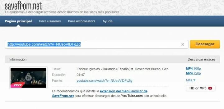 Imagen - Cómo descargar vídeos de YouTube sin instalar nada