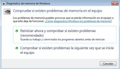 Imagen - Cómo comprobar el estado de la memoria RAM en Windows