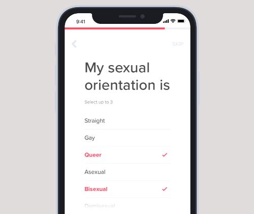 Resultado de imagen para tinder orientacion sexual