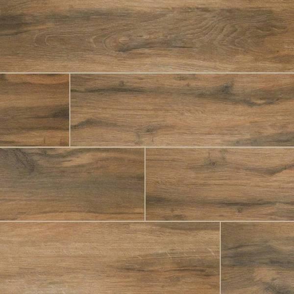 botanica cashew wood look tile 6x24