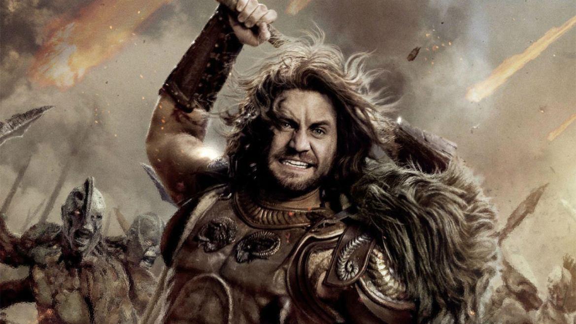 Ares dios de la guerra interpretado por Edgar Ramirez en Furia de titanes II Foto Archivo