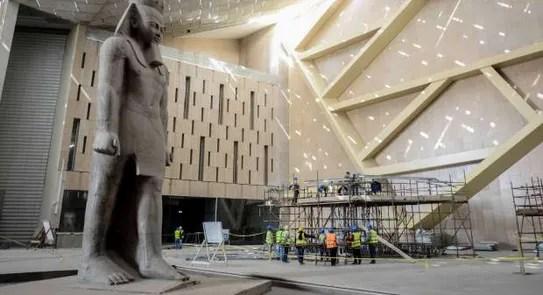 الآثار» تعلن موعد وضع آخر قطع توت عنخ آمون بالمتحف الكبير - مصر - الوطن