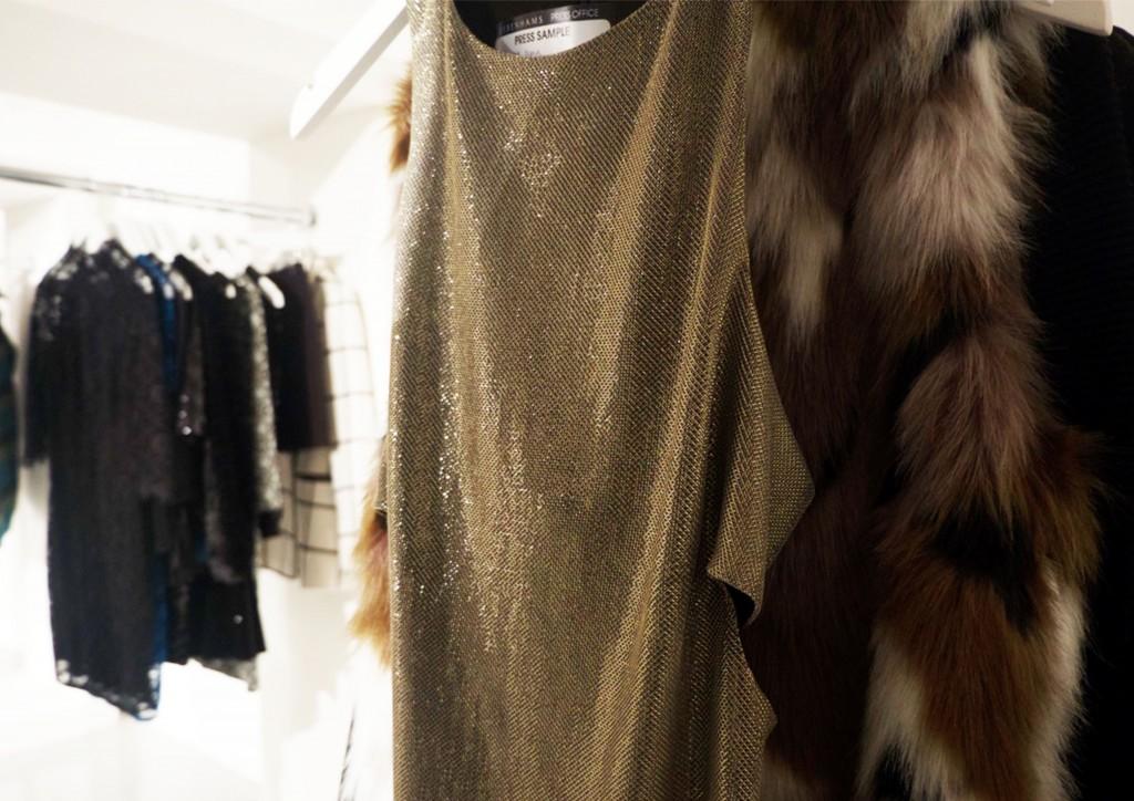 Metallic, Dress, Todd Lynn Fashion, Debenhams