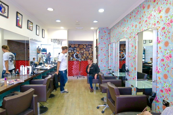 Inside LukeJacob Salon East London