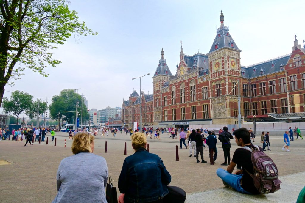 Alternative Amsterdam Centraal Station