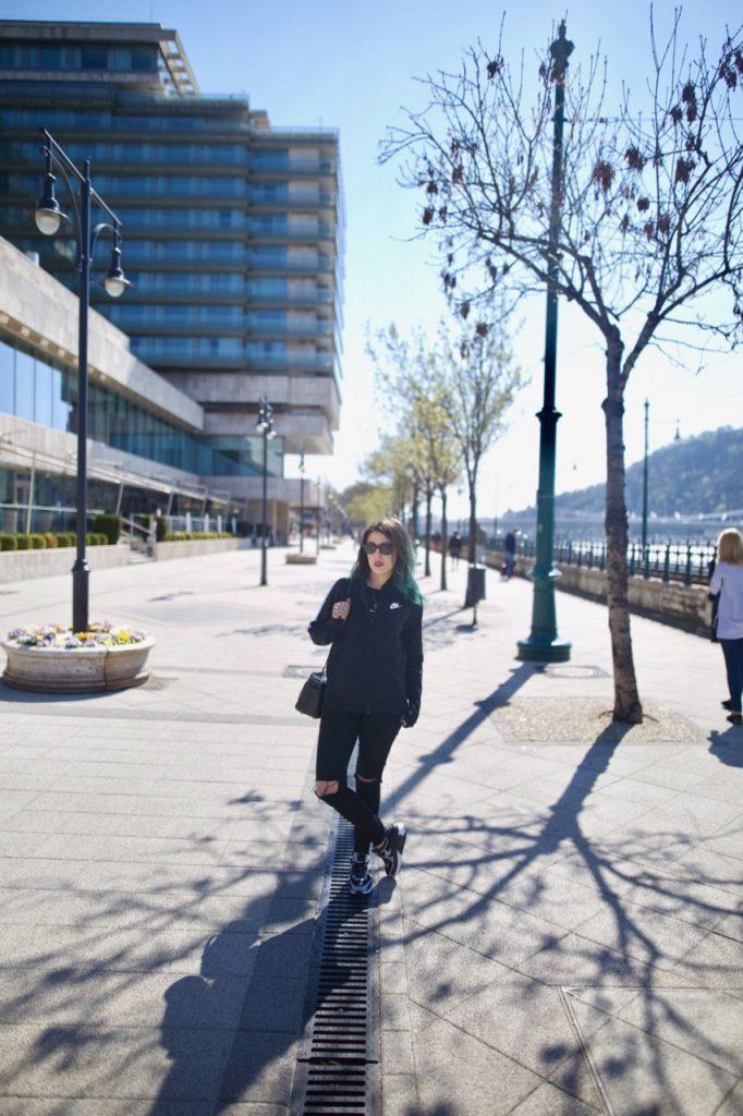 Emma Inks City Break Style by the Danube