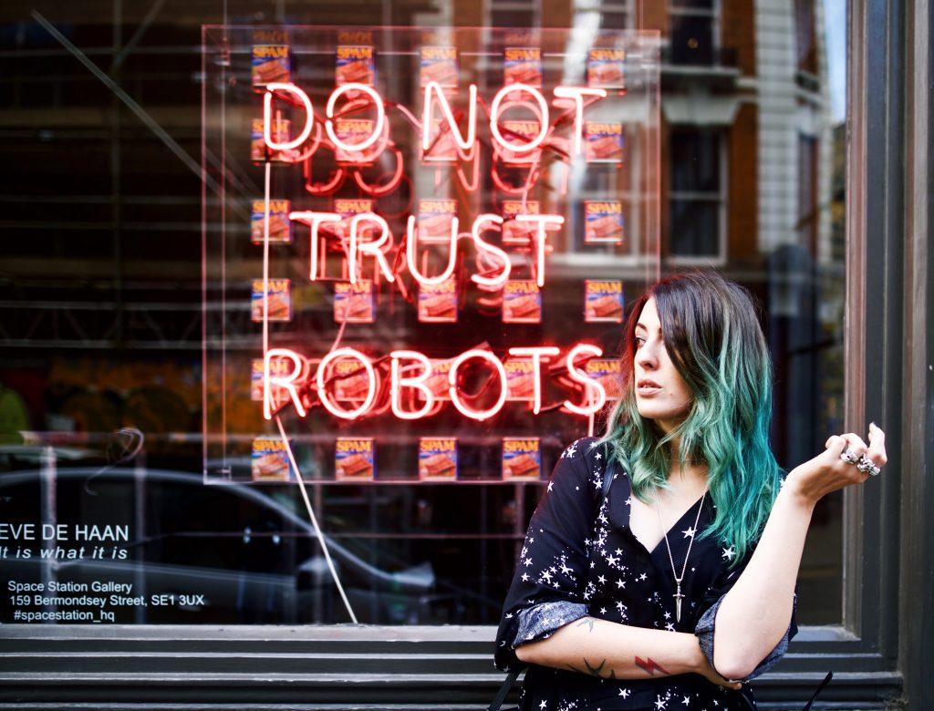 Emma Inks Weekly Update Shoreditch Do Not Trust Robots