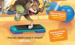 Rabbit Riddles From The April  Issue Of Ranger Rick Magazine