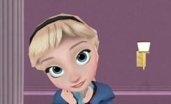 Mmd Frozen Little Elsa Angelic Discovers A Webcam Funny Animation Meme Disney You