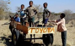 Toyota Im Not Sure Where Exactly This Is But It So African Children African Animalstoyota Hiluxfunny