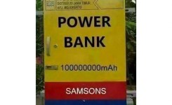 Flickr  Ce Beduss P Os Taken Near Dijual Powerbank Merk Samsons Mah Berminat Silahkan Hubungi Pln Terdekat D Lol Powerbank Joke Goodmorning