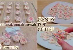 Cara Memasak MEMBUAT CANDY POP CHEESE |RESEP JAJANAN ANAK SEKOLAH |TANPA OVEN