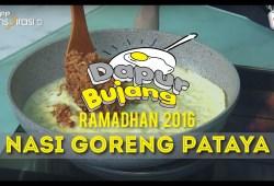 Cara Memasak #DapurBujang Ramadan 2016: Nasi Goreng Pataya.