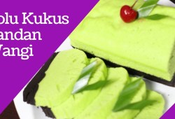Cara Memasak Resep Bolu Kukus Pandan Coklat Lembut | Steamed Pandan sponge cake Chocolate Soft