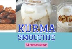 Cara Memasak Resep buka puasa #1 : Kurma Smoothie | Jus kurma | Cara membuat | Resep sahur | Drink On Top