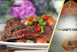 Cara Memasak Chef's Table : Main Course – Kambing Guling Bumbu Rempah