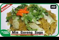 Cara Memasak Menu Buka – Sahur Puasa Ramadhan – Mie Goreng Sagu Resep Masakan Indonesia Mudah Simpel Bunda Airin