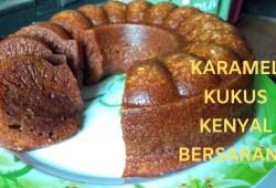 Cara Memasak Resep Kue Karamel Kukus Kenyal Dan Bersarang #kreasimamalisa