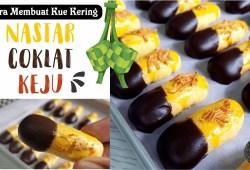 Cara Memasak Resep Kue Lebaran Tanpa Mixer & Tanpa Oven – Nastar Coklat Keju
