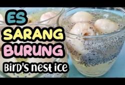Cara Memasak Bikin Ngiler !!! Es Sarang Burung Nikmat Buat Buka Puasa Bird's nest ice