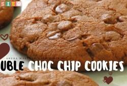 Cara Memasak Resep Double Chocolate Chip Cookies – Inspirasi Kue lebaran 2019