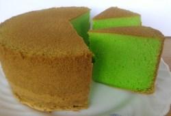 Cara Memasak RESEP BOLU PANDAN (tanpa santan)/PANDAN CAKE RECIPE