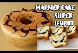 Cara Memasak Marmer cake super lembut