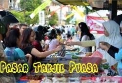 Cara Memasak Berburu Makanan Takjil Buka Puasa Ramadhan 2019 di Pasar Rawamangun