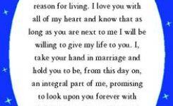 Those Are Pretty Vows