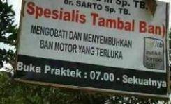 Dokter Spesialis Tambal Ban